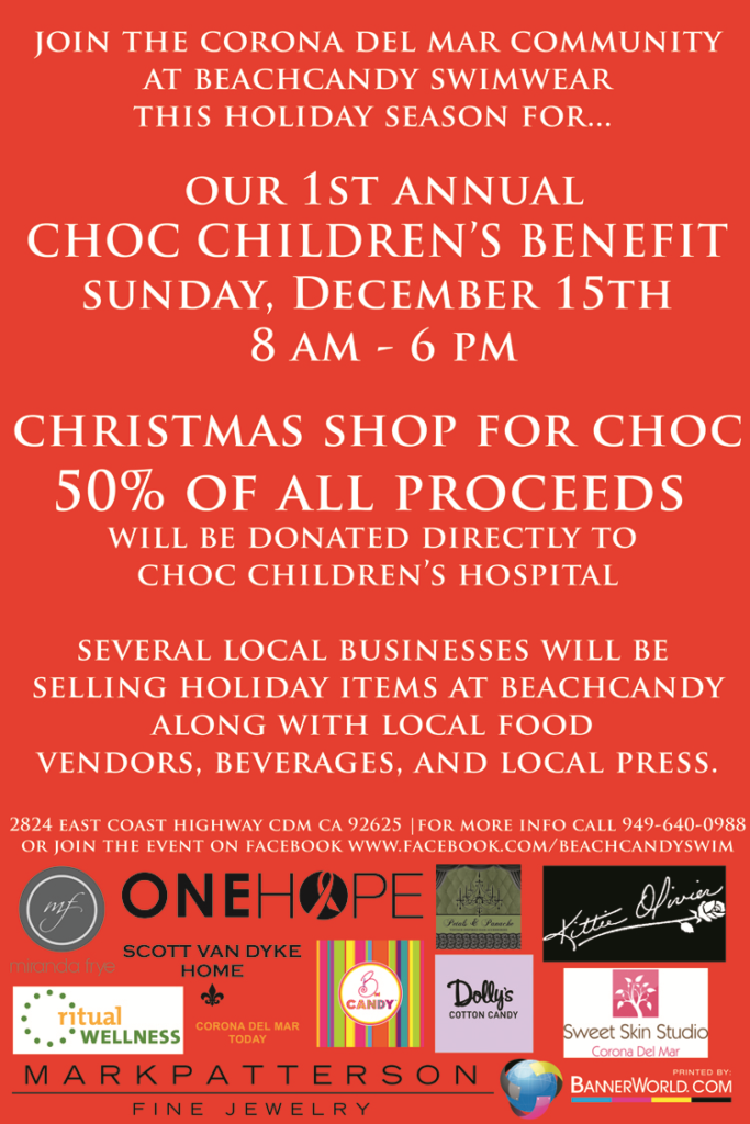 1st annual Choc Children's Benefit Flyer