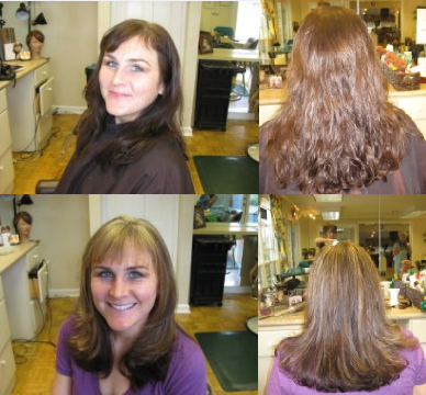 Straitening Before and After