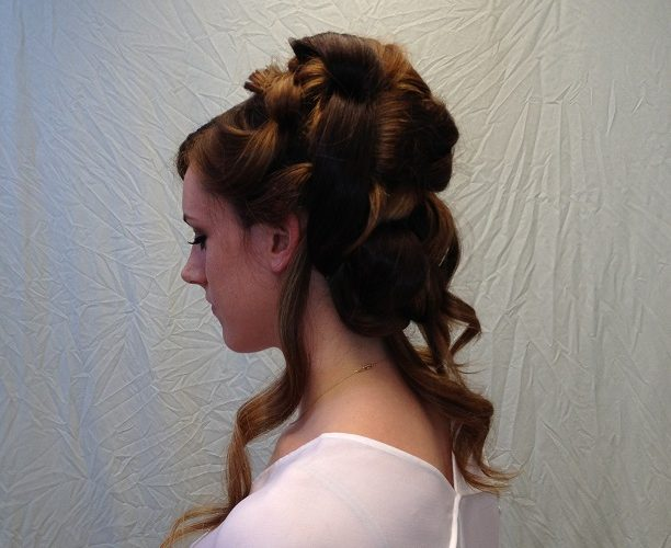 Mya Updo After